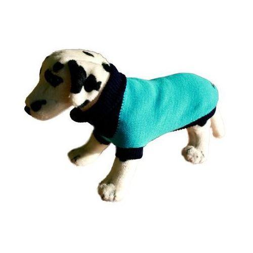 sweter dla psa turkusowy z granatem rozmiary 1-6 marki Ami play