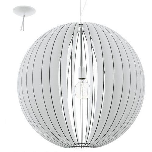 Eglo Cossano 94441 lampa wisząca drewno
