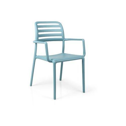 Nardi Krzesło costa z podłokietnikami niebiesk ie