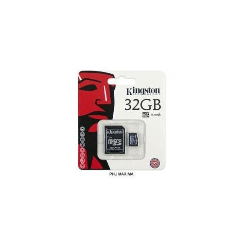 Karta pamięci micro sd 32gb class 4 adapter marki Kingston