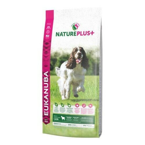 nature plus+ adult medium breed rich jagnięcina 10kg marki Eukanuba