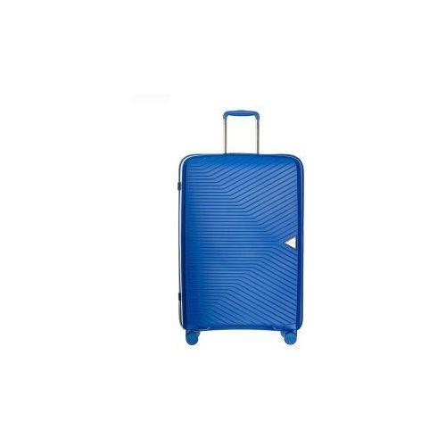walizka średnia twarda z kolekcji denver pp014 4 koła zamek szyfrowy tsa materiał polipropylen marki Puccini
