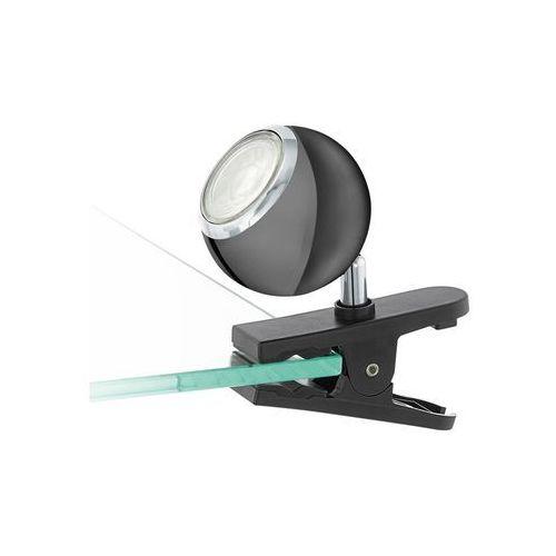 96838 - led oświetlenie punktowe z klipsem bimeda 1xgu10/3,3w/230v czarny marki Eglo