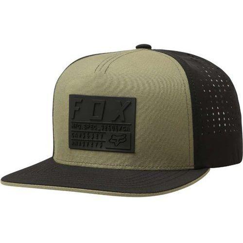 czapka z daszkiem FOX - Redplate Tech Snapback Hat Fatigue Green (111) rozmiar: OS, kolor zielony