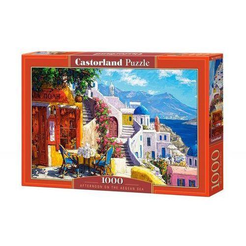 Puzzle 1000 popołudnie nad morzem egejskim castor marki Castorland