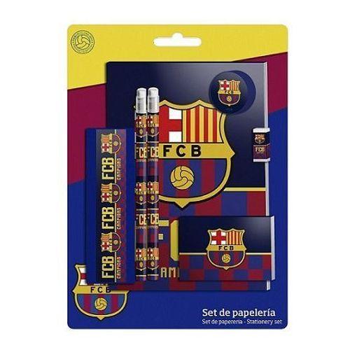 Zestaw przyborów szkolnych - 7 elementów FC Barcelona, 16_3968