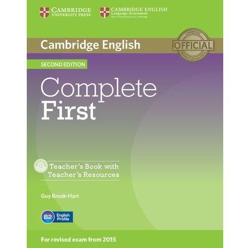 Complete First 2nd Edition. Książka Nauczyciela + CD (112 str.)