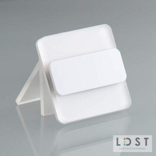 oprawa led duo 10led 230v 1,2w: barwa światła - zielona, kolor oprawy - biały du-01-b-zi8 - autoryzowany partner ldst, automatyczne rabaty. marki Ldst