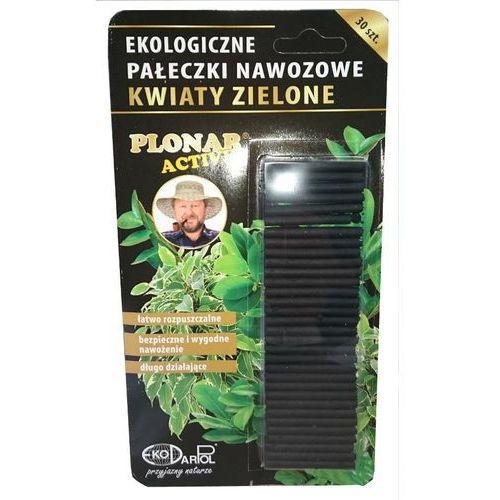 Ekologiczne pałeczki nawozowe rośliny zielone Plonar Active 30 szt, 5910000010747