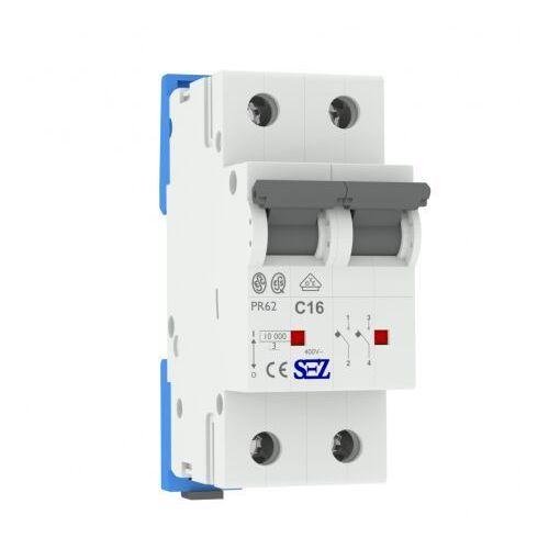 C16a 2p 10ka wyłącznik nadprądowy bezpiecznik typ s eska pr62 sez 1415 marki Pce