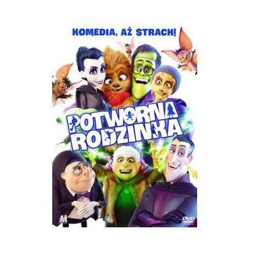 Potworna rodzinka (dvd) + książka marki Monolith