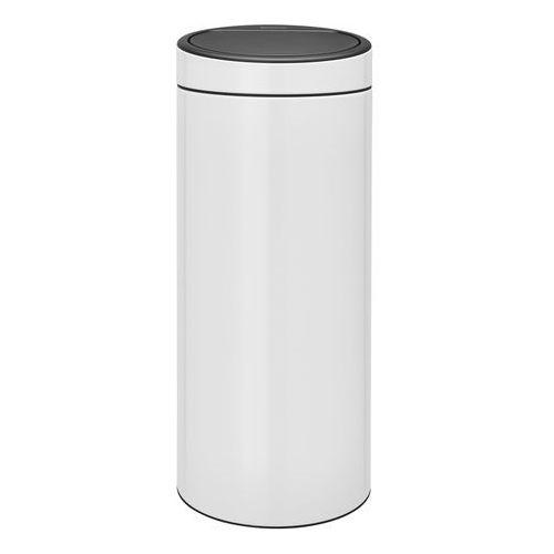 Kosz na śmieci 30 litrów touch bin stal biała marki Brabantia