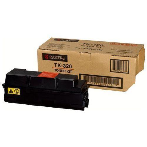 Wyprzedaż oryginał toner kyocera tk-320 do fs-3900dn/4000dn   15 000 str.   czarny black marki Kyocera-mita