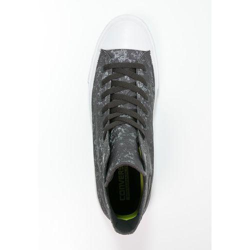 Converse CHUCK TAYLOR ALL STAR II Tenisówki i Trampki wysokie almost black/pure silver/white - produkt z kategorii- Męskie obuwie sportowe