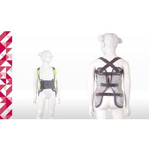 Dziecięcy gorset doniczkowy piersiowo-lędźwiowo-krzyżowy tlso mocno sztywny erh 48/3 strong stiff, mocnosztywny marki Erhem