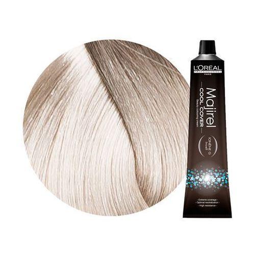 Loreal majirel cool cover | trwała farba do włosów o chłodnych odcieniach - kolor 10.1 bardzo bardzo jasny blond popielaty - 50ml