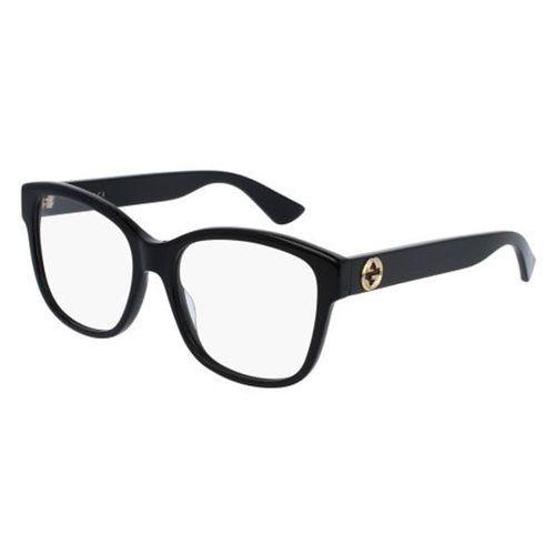 Okulary korekcyjne gg0038o 001 marki Gucci