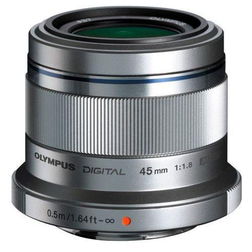 Obiektyw OLYMPUS M.Zuiko Digital 45 mm 1:1.8 ET-M4518 (4545350037093)