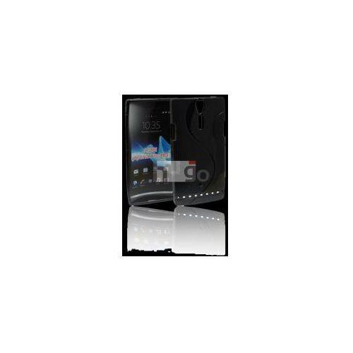 Futerał Back Case S-Line Sony Xperia P (LT22i) CZARNY, kup u jednego z partnerów
