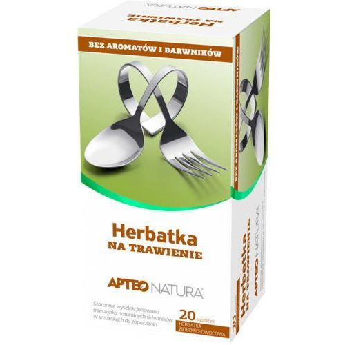 Synoptis pharma Apteo natura herbatka na trawienie x 20 saszetek