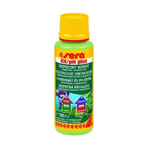 SERA KH/pH Plus - preparat podnoszący twardość węglanową oraz pH w akwarium 100ml (4001942038102)