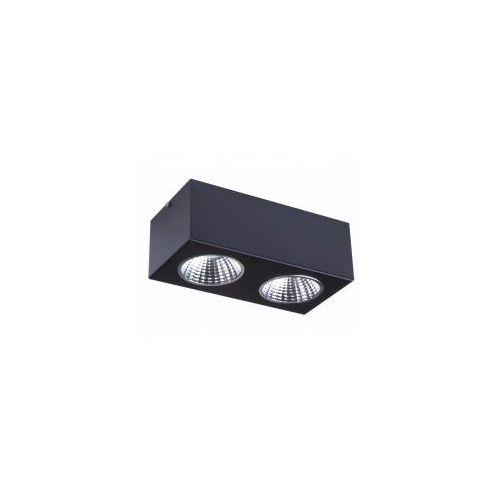 NEX 2 GU10 32631 oprawa sufitowa led czarna SIGMA