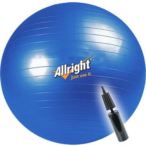 Piłka gimnastyczna 55cm + pompka marki Allright