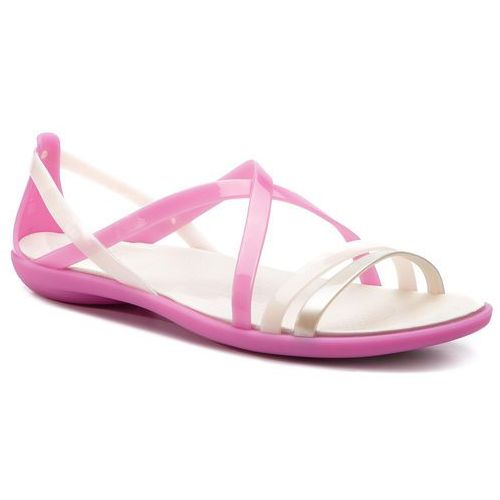 Sandały - isabella strappy sandal w 204915 violet/oyster marki Crocs