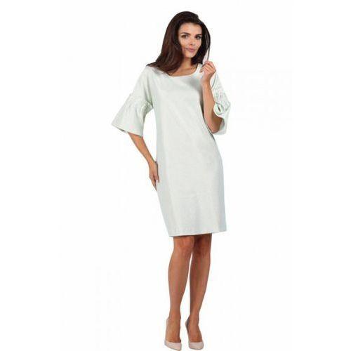 Sukienka wizytowa model 925 white marki Margo collection