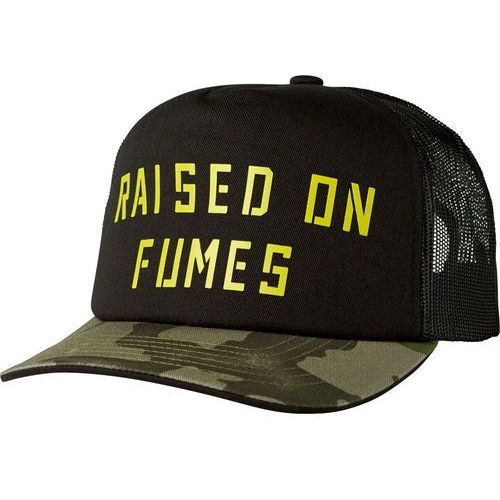FOX czapka męska czarny Raised on Fumes