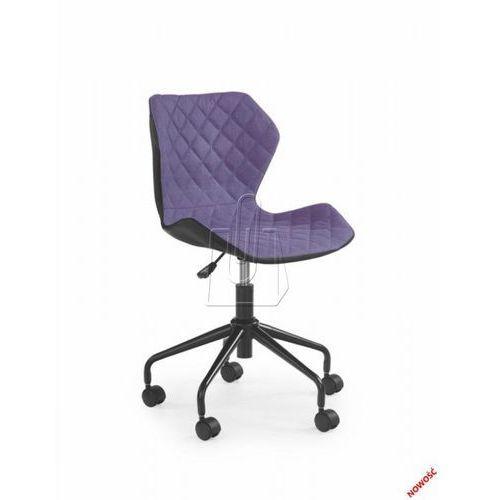 Fotel młodzieżowy Halmar Matrix fioletowy – Dostawa GRATIS 24H, 97591