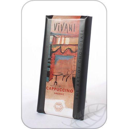 : czekolada cappuccino bio - 100 g marki Vivani
