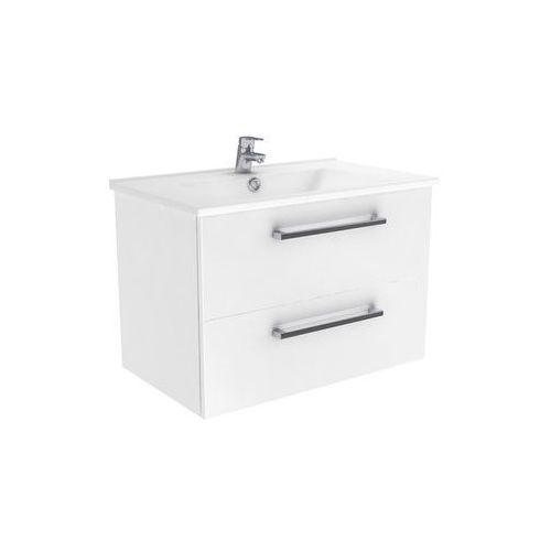 New Trendy Fargo szafka wisząca biały połysk 75 cm ML-8075, ML-8075