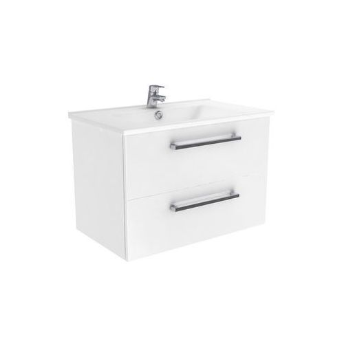 New Trendy Fargo szafka wisząca biały połysk 75 cm ML-8075