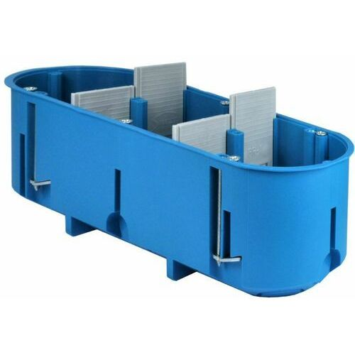 Simet Puszka do regipsu 3x60mm potrójna niebieska 32104203 (5907813213069)