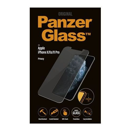 Panzerglass p2661 apple iphone x xs 11 pro tempered glass transparent with privacy filter