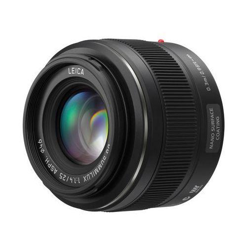 Panasonic H-X025E 25 mm f/1,4 - produkt w magazynie - szybka wysyłka!