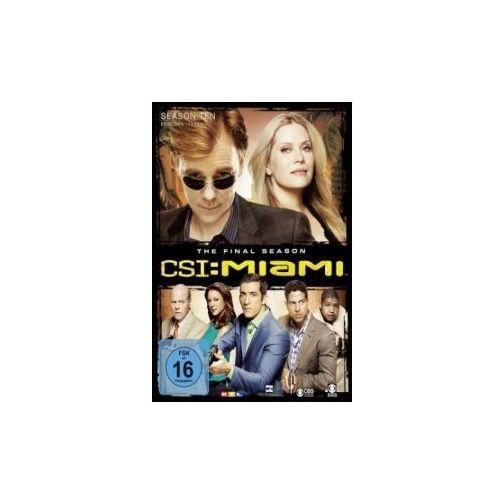 CSI: Miami - Das Finale, 3 DVDs (Limited Edition). Staffel.10.1