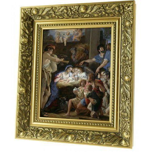 Obraz ceramiczny Adoracja Jezusa w stajence