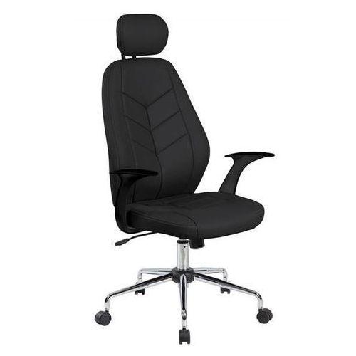 Fotel biurowy tenerife, czarny marki Office products