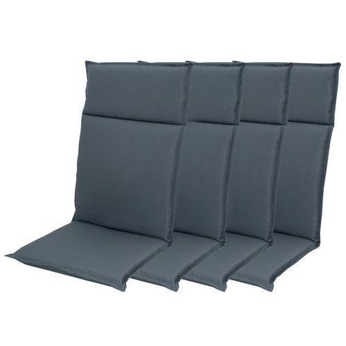 Doppler zestaw poduszek ogrodowych HIT UNI 7840 wysokie - 4 szt