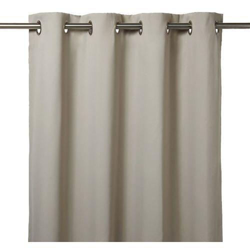 Goodhome Zasłona zaciemniająca vestris 140 x 260 cm kremowa