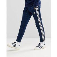 adicolor popper joggers in navy cw1285 - navy marki Adidas originals