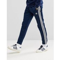 adidas Originals adicolor Popper Joggers In Navy CW1285 - Navy, kolor szary