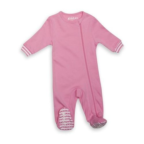 Juddlies Pajacyk Sachet Pink Solid 3-6m, kolor różowy - OKAZJE