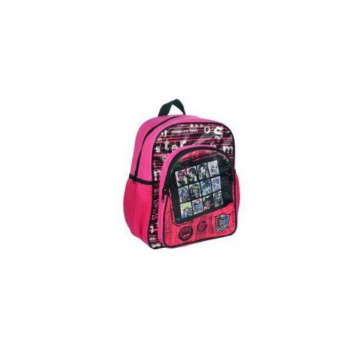 Plecaczek plecak mały MONSTER HIGH + GRATIS!, 5201912227331