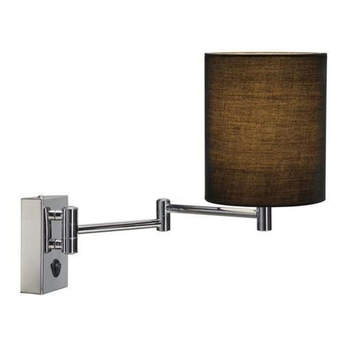 Ponadczasowa lampa ścienna soprana, czarny marki Slv
