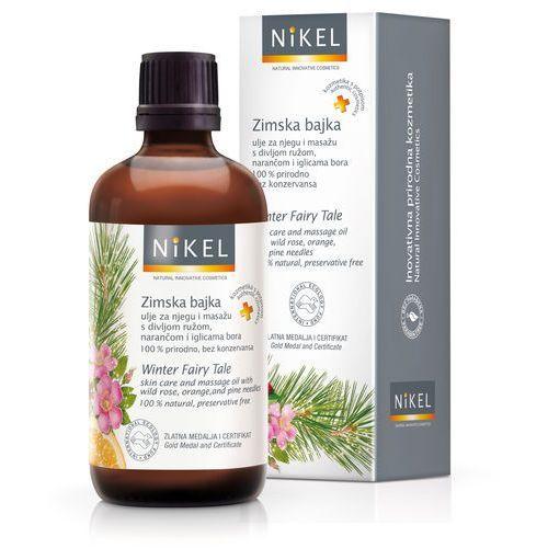 Nikel, Relaksujący olejek do masażu z dziką różą, pomarańczą i sosną, 100 ml z kategorii Kosmetyki do masażu