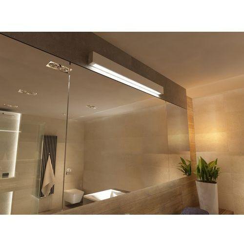 Light prestige Biały kinkiet do łazienki ibros ip44 duży