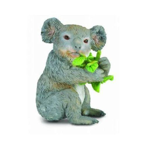 Miś koala, jedzący liście eukaliptusa - minifigurka - marki Collecta